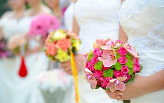 Poročni šopki na Brdu pri Kranju